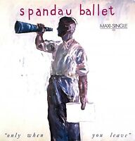 "Spandau Ballet ‎12"" Only When You Leave - Europe (VG/VG)"