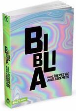 Biblia para Lideres de Adolescentes (2018, Paperback)
