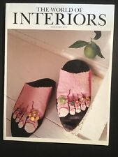 The World of Interiors. March 2000