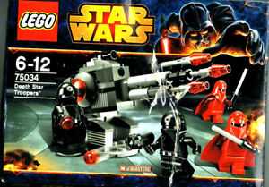 *LEGO* STAR WARS 75034 Death Star Trooper 4 minifigs   Box Damaged as /p/picture