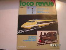 **c Loco Revue n°480 De la CC 14100 à la CC 14000 / Voitures SNCF type VTU en N