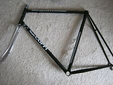 FAUSTO COPPI, BLACK, STEEL ROAD FRAME SET, 59/58cm , NOS/NEW