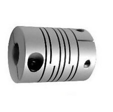 "9.5x12.7mm Flexible Coupler 3/8"" to 0.5"" Shaft Coupling"