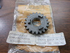 NOS Yamaha 80-81 YZ125 82-83 YZ100 6th Pinion Gear 3R3-17161-02