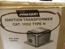 ALLANSON 1092 H TYPE IGNITION TRANSFORMER