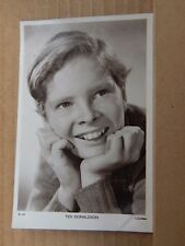 Film Star postcard Ted Donaldson Picturegoer w479  Real Photo unposted