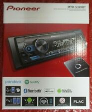 NEW PIONEER MVH-S320BT SINGLE DIN MP3/WMA BLUETOOTH DIGITAL MEDIA PLAYER MIXTRAX