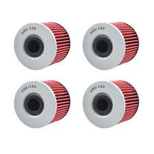 4X Oil Filters For Suzuki GR650 Tempter GS1000 GS1100 GS450 GS500 GS550 GSX400