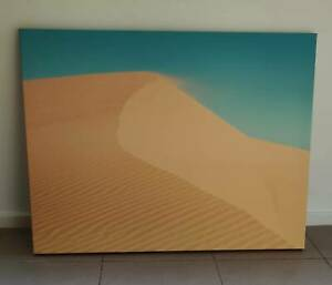 Photo printed on canvas - sand and sky in Port Stephens
