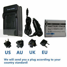 Li-50B Battery + Charger for OLYMPUS Stylus Tough 1030 SW Tough 6000 Tough 8000