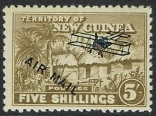 NEW GUINEA 1931 HUT AIRMAIL 5/-