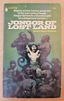 Jongor of Lost Land by Robert Moore Williams (Popular Library paperback novel)
