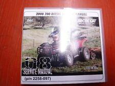 2008 Arctic 700 Diesel Atv Original Factory Service Manual Cd
