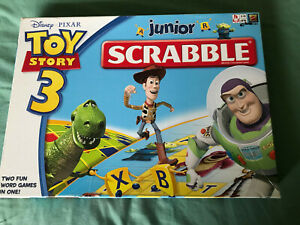 Toy Story 3 Junior Scrabble Game