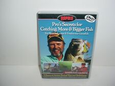 Rapala Pros Secrets for Catching More and Bigger Fish (DVD, 2003)