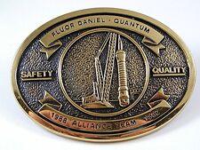 1988 - 1992 Alliance Team Fluor Daniel Quantum Belt Buckle By BTS USA 111416
