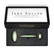 Matkas jade Roller Aging Therapy Hand Made Natural Double