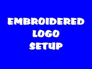 £10 Embroidered Logo Setup Digitizing