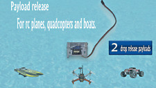 2 Payload release Fishing or fun drop bomb RC Quadcopter Drone, Boat, Car  servo