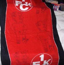 1. FC Kaiserslautern - Handtuch mit Logo+Teufel,ca. 50x100 cm,Neu,Lizenz,Rarität