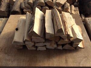BBQ & smoker logs 8kg kiln dried Birch, Firewood, Fire pit , chiminea