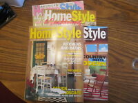 American Homestyle lot of 4 magazines 1994 1995 1996