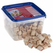 TASTY DOG BISCUITS MADE WITH PREMIUM POULTRY, SALMON & CHEESE & VITAMIN D 1KG