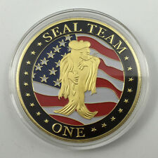 US Navy Seal Team One Challenge Coin