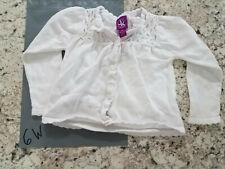 Girls Sweater - 2T, Jk Khaki, Ivory, Cardigan, Holiday Sweater, Button Up - 6w