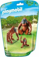 Playmobil Animals Wild Life Zoo City Life Orangutan Family
