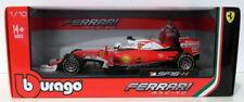 Modellini statici di auto da corsa Formula 1 Burago Sebastian Vettel Scala 1:18