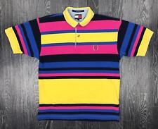 Tommy Hilfiger Herren Regelmäßiges Poloshirt, Rosa, Small