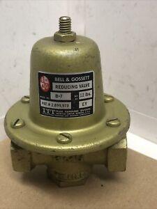 """3/4"""" B&G Brass Reducing Valve- 3/4"""" Boiler Feed Valve B-7 12psi-25psi P/N110196"""