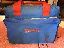 NINTENDO BAG ~ Vtg Blue Zbag 1988 Soft Carrying Case NES Console Travel