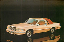 1980 FORD THUNDERBIRD 2-DOOR AUTOMOBILE ADV CHROME POSTCARD