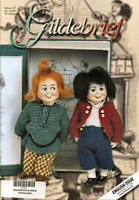 Gildebrief 3-2001 Dollmaking Antique Dress Patterns full size patterns