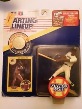 Vintage 1991 Ken Griffey SR Starting Lineup Seattle Mariners Extended Series