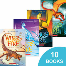 Wings of Fire- sealed books 1-10 NEW by Tui Sutherland- awesome books