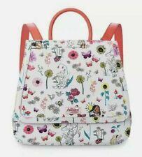 Disney Animators Collection Large Fashion White Backpack Tote Bag Princess New