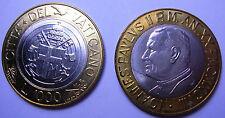 VATICANO Giovanni Paolo II 1000 Lire bimetallic 1998 FDC (UNC)