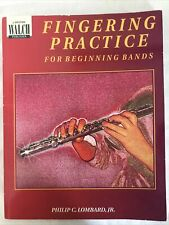 Fingering Practice for Beginning Bands - Great teaching tool for band teachers!