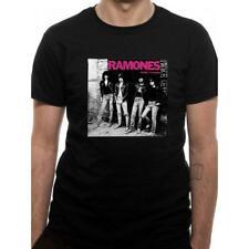 Ramones Rocket to Russia Album Cover Official Punk Rock Music Black Mens T-shirt