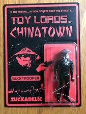 "SUCKADELIC Sucklord 2012 ""Toy Lords of Chinatown Sucktrooper"" action figure RARE"