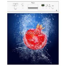 Magnet lave vaisselle déco fruit rouge  60x60cm réf 067 067