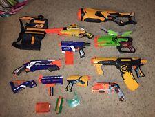 Huge Nerf Gun Lot Lot Of 9 Awesome Nerf Guns