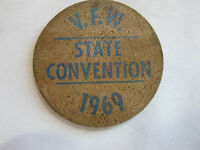 Wooden Nickel Good For 15¢ In Trade Uncle Thirsty/'s Manitowoc Wis