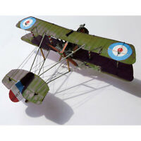 1:33 Scale WWI Airco DH.2 British Single-seat Biplane Aircraft Paper Model KAU_X