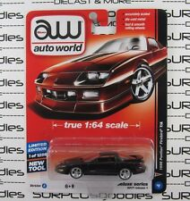 Auto World 1:64 2017 Deluxe Series Release 1 1996 PONTIAC FIREBIRD T/A Version A