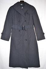 Sterlingwear All Weather Trench Coat w/Zip-Out Lining Black Women's 12R