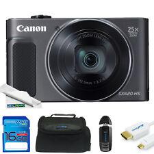 Canon PowerShot SX620 HS Digital Camera (Black) + Expo-Starter Kit